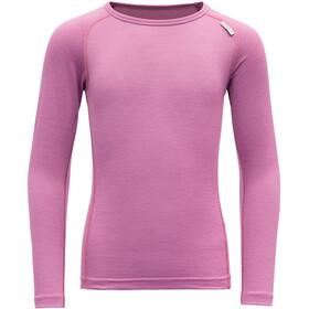 Devold Breeze LS Shirt Kids, roze